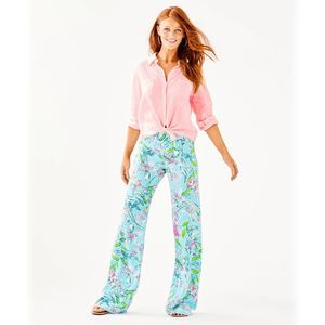 Lilly Pulitzer Bal Harbour Palazzo Pant Size XXS